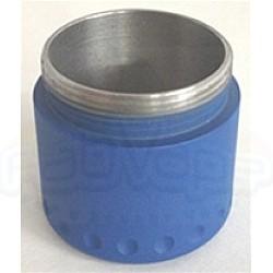 ProVari Mini Extended End Cap for 18490 Battery - Satin Blue