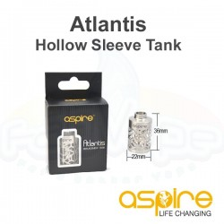 Aspire Atlantis Hollow Sleeve Tank
