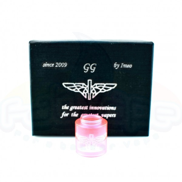 Tilemahos V2/X1 - Clear Tank 22mm Engraved Red