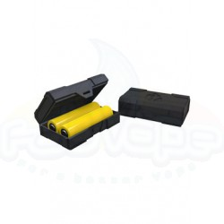 Chubby Gorilla Cases for 2 batteries 18650 Black