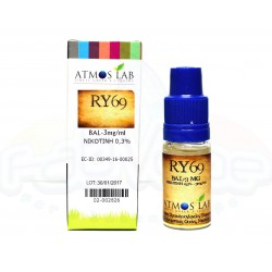 ATMOS LAB - Ατμιστικό υγρό RY69 Balanced 10ml