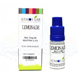 ATMOS LAB - Ατμιστικό υγρό Lemonade Balanced 10ml