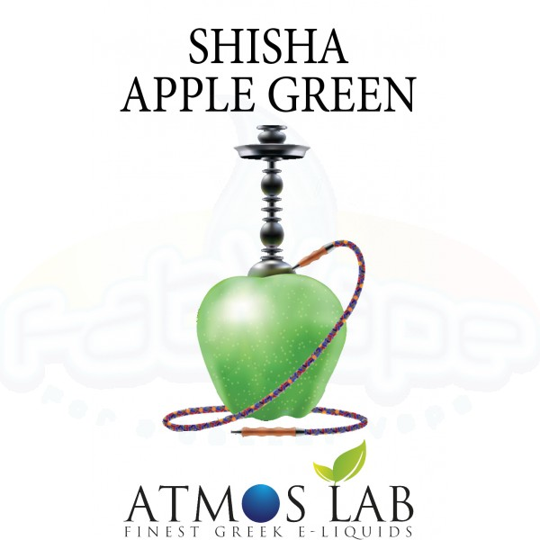 ATMOS LAB SHISHA APPLE GREEN FLAVOR
