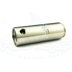 JUSTGG / STEALTH engraved tube solid 18500 inox mat