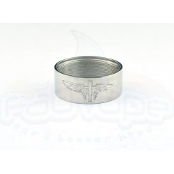Ithaka lower body inox shined engraved