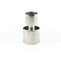 Penelope V4 drip tip mouthpiece inox shined