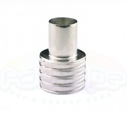 Tilemahos X1 drip tip mouthpiece inox shined SBP