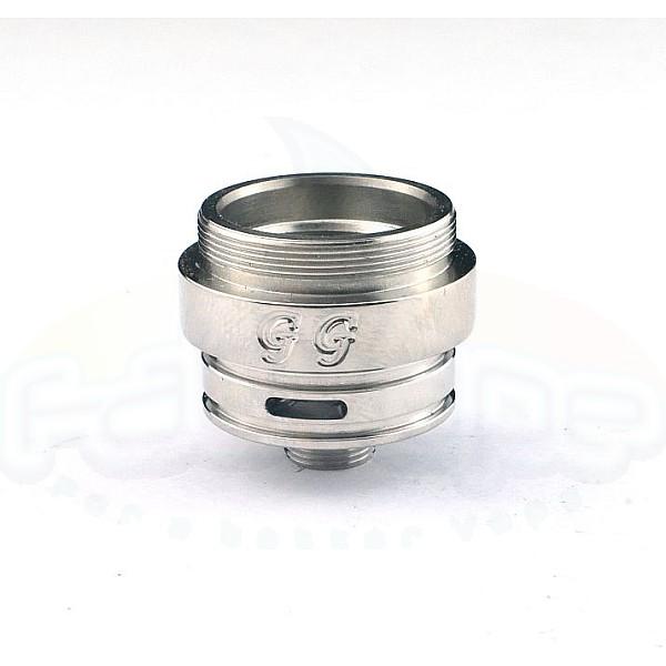 Tilemahos V2 / X1 - base 23mm inox shined engraved