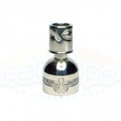 Tilemahos Armed Eagle 25mm - Mouthpiece Curved Inox