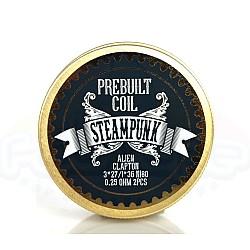 Steampunk - Ready Alien Clapton Coils 0.25 Ohm Ni80