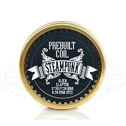 Steampunk - Ready Alien Clapton Coils 0.50 Ohm Ni80