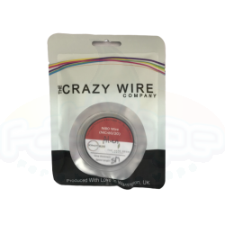 Crazy Wire - Alien Coil Wire Ni80 (0.3mm x 0.8mm Flat Wrapped With 32 AWG) 5meters